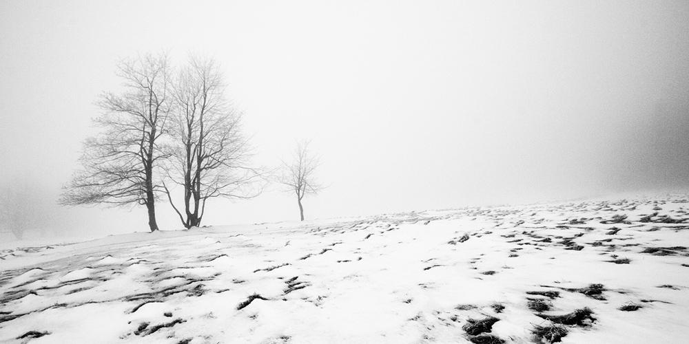 Winter in Bohemian-Saxon Switzerland