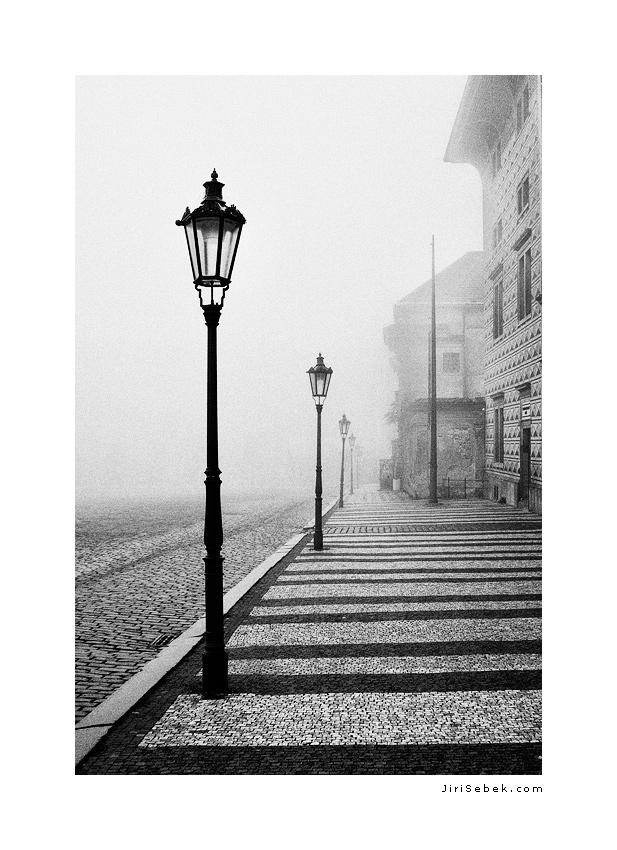 fotografie Hradcany square