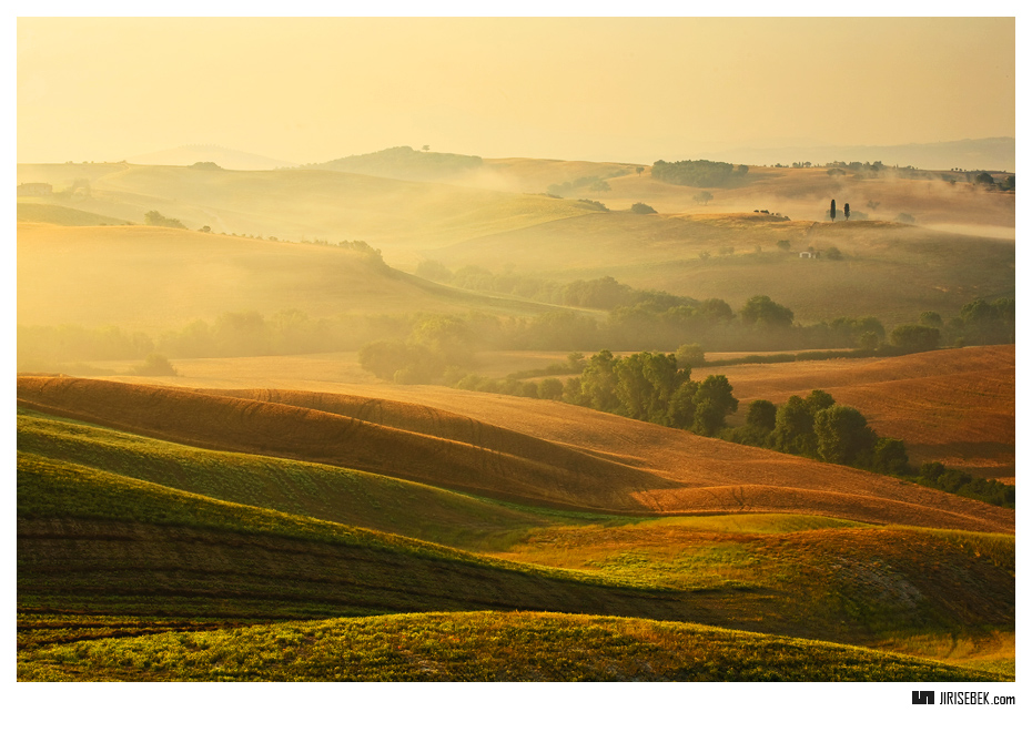 fotografie Tuscany morning