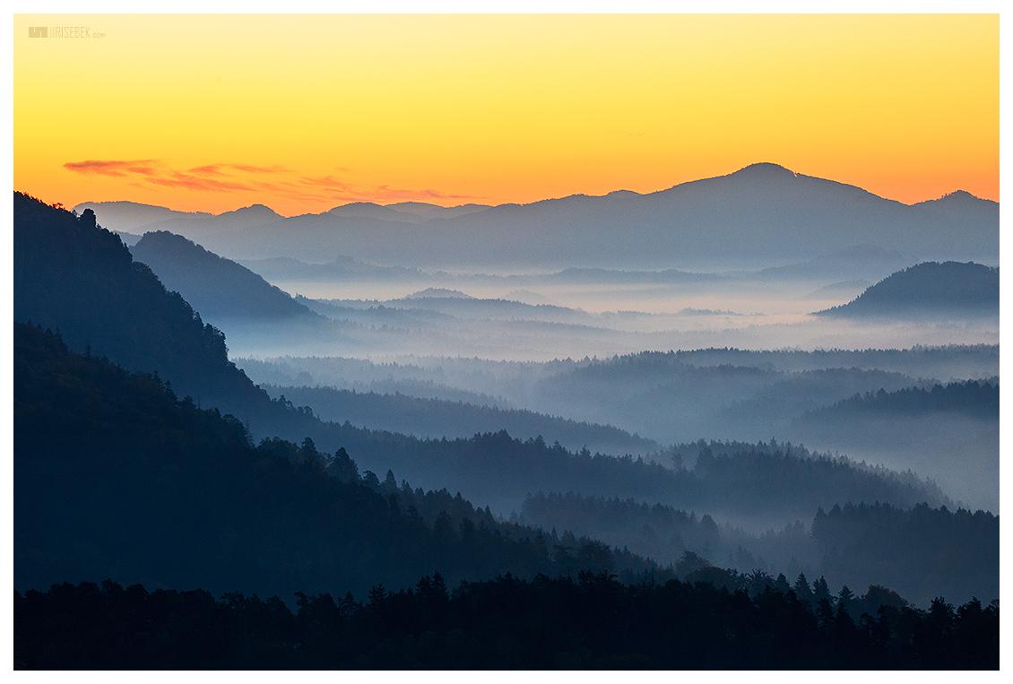 fotografie Švýcarsko po ránu