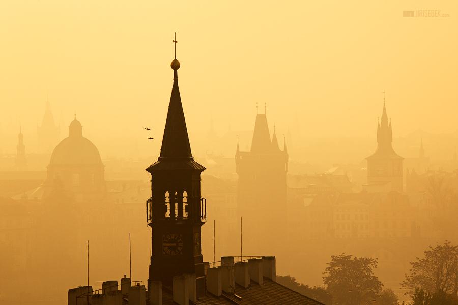 fotografie Prague towers