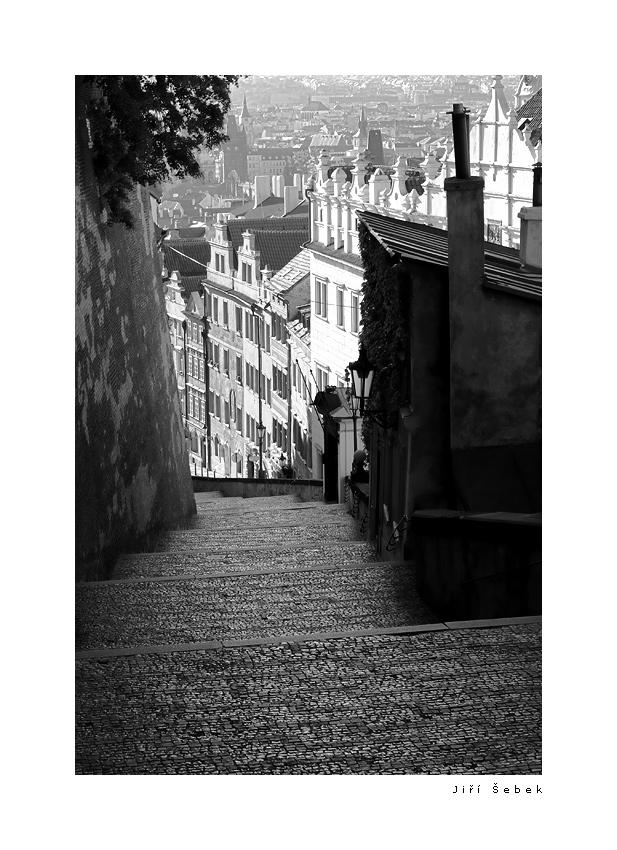 fotografie Zamecke schody