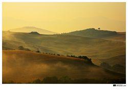 fotografie Val d´Orcia, Toscana