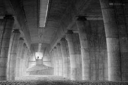 fotografie Pod mostem
