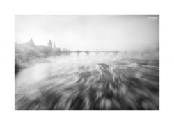 fotografie Fog tatters in Prague