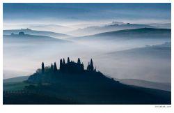 fotografie Belveder, Tuscany