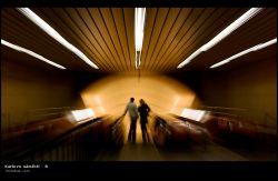 fotografie Karlovo namesti, Prague metro