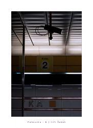 fotografie Palmovka, Prague metro station