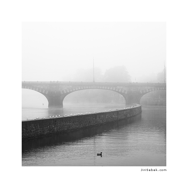 fotografie Legion Bridge in Prague