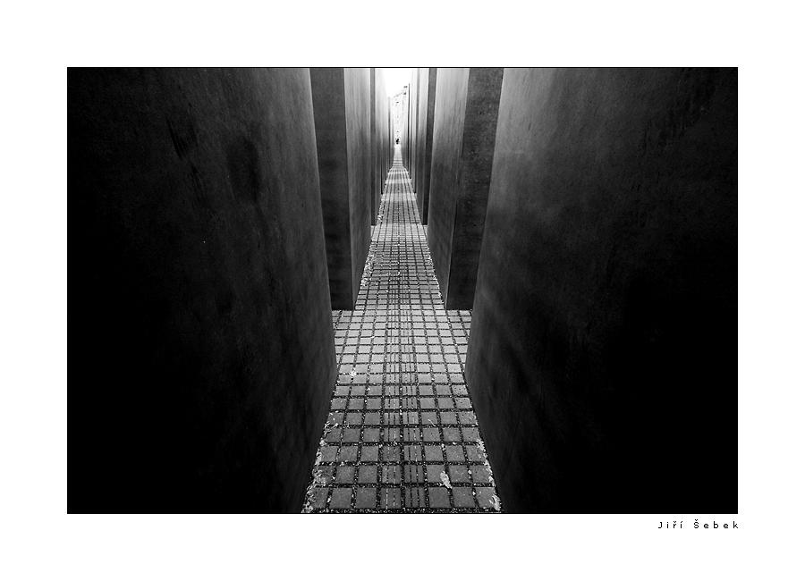 fotografie Holocaust memorial Berlin 02