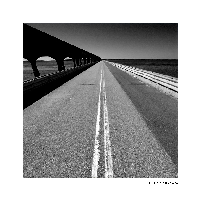 fotografie Road to nowhere
