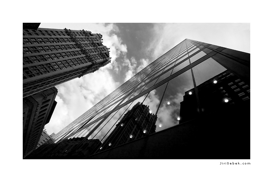 fotografie New York skyscrapers
