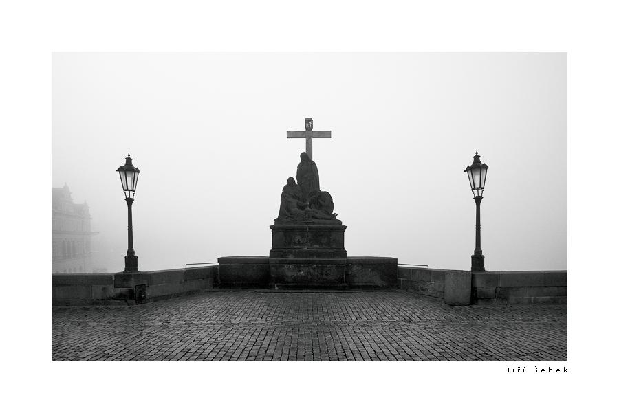 fotografie Statue of piety